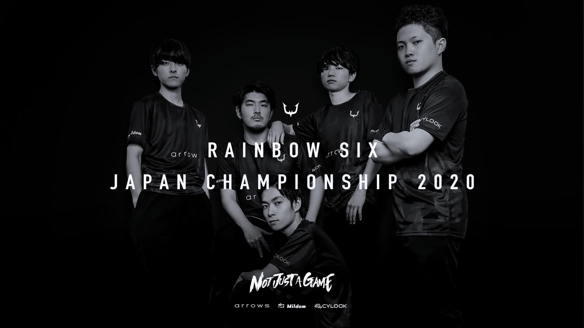 【RAINBOW SIX】新体制での初大会、『RAINBOW SIX JAPAN CHAMPIONSHIP 2020』出場