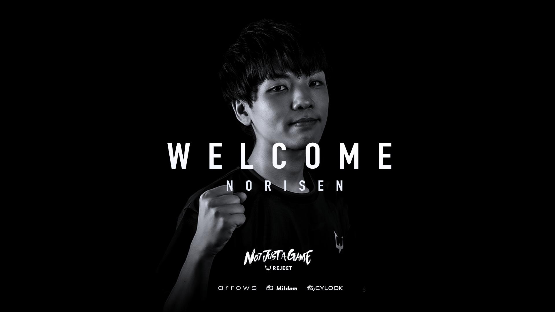 【VALORANT】 Norisen選手加入のお知らせ